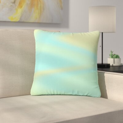 Sylvia Coomes Sea Swirl Outdoor Throw Pillow Size: 18 H x 18 W x 5 D