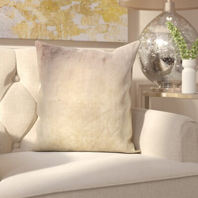 Robillard Ombre Pillow Cover Color: Beige