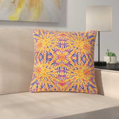 Miranda Mol Azulejo Outdoor Throw Pillow Size: 18 H x 18 W x 5 D