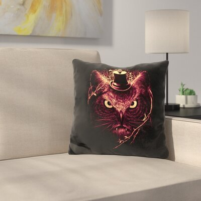 Meowl Throw Pillow