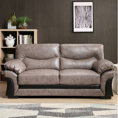 Pawlak Sofa Upholstery: Gray/Black