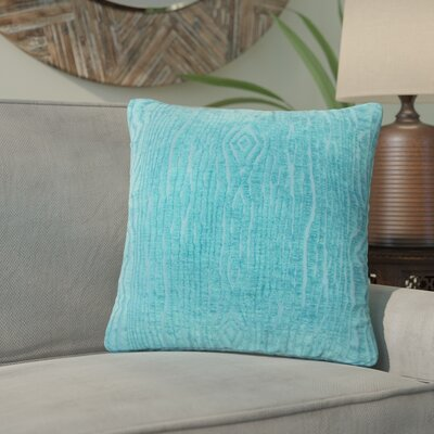 Whitehead Solid Throw Pillow Color: Peacock
