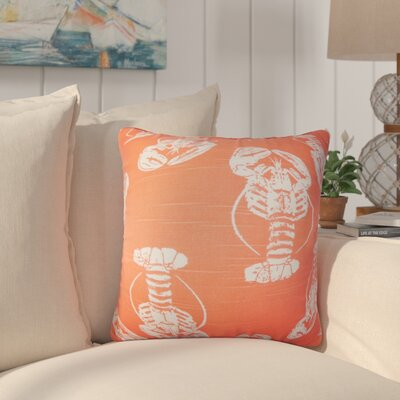 Cervone Animal Print Cotton Throw Pillow Color: Pink