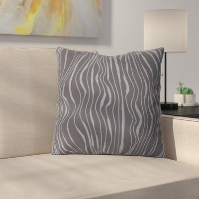 Camilla Foss Ebb and Flow Throw Pillow Size: 18 x 18