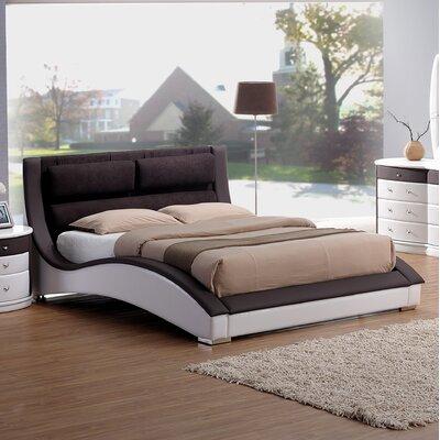 Roussel Queen Upholstered Platform Bed