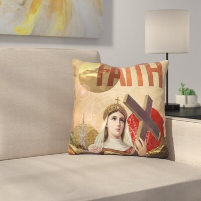 Rise of Mary Throw Pillow