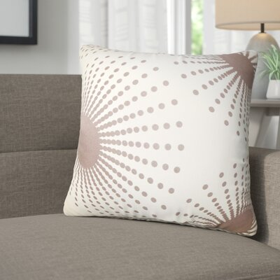 Kora Geometric Cotton Throw Pillow