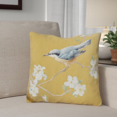 Ginn Nuthatch Throw Pillow