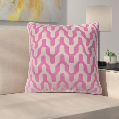 Arellano Decorative Throw Pillow Color: Flamingo Pink