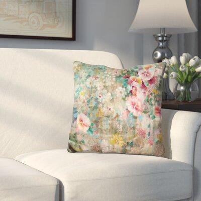 Bankhead Flower Shower Throw Pillow