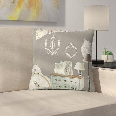 Jina Ninjjaga Decor Pop Art Outdoor Throw Pillow Size: 18 H x 18 W x 5 D