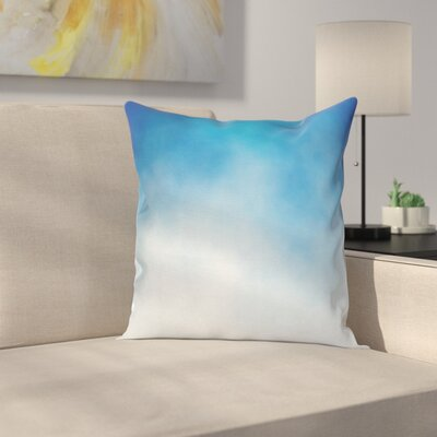 Cloud in Sky Square Pillow Cover Size: 16 x 16