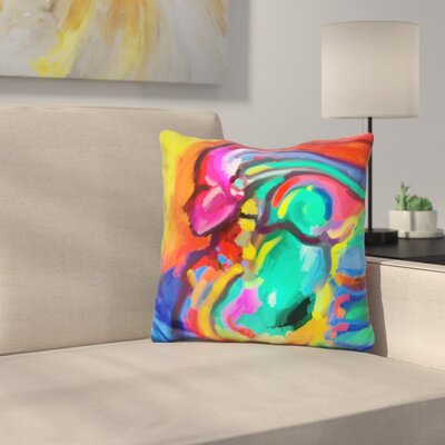Carnivale Lady Throw Pillow