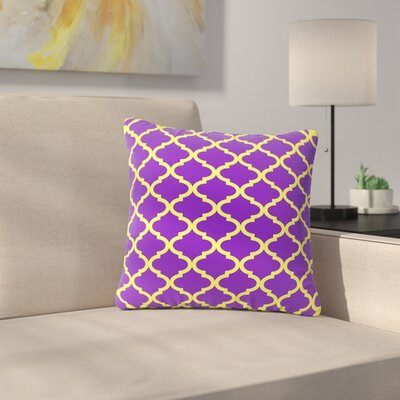 Matt Eklund Culture Shock Outdoor Throw Pillow Size: 18 H x 18 W x 5 D