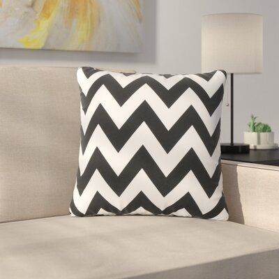 Mayhew Outdoor Throw Pillow Color: Black