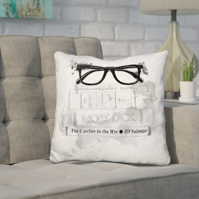 Hernandez Adams Library Throw Pillow