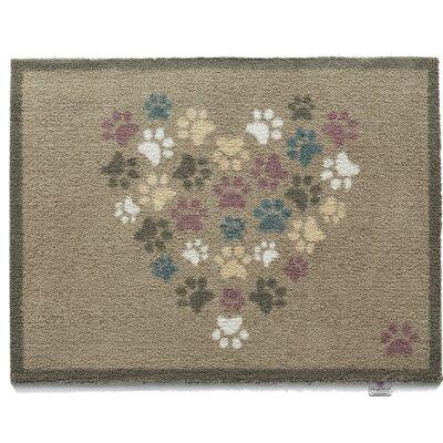 Duplantis Pet 45 Paws Heart Barrier Doormat