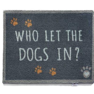 Duppstadt Pet 39 Who Let the Dogs in Barrier Doormat