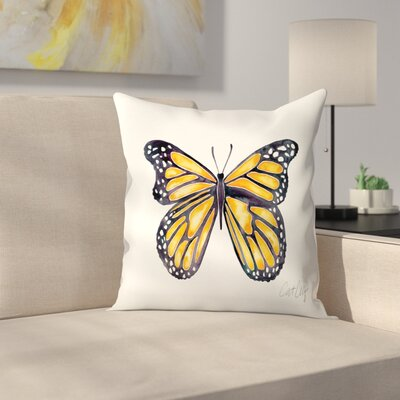Monarch Throw Pillow Size: 20 x 20