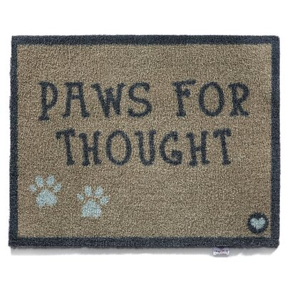Dupras Pet 41 Paws for Thought Barrier Doormat