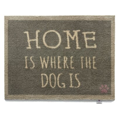 Dupuis Pet 47 Home is Where the Dog is Barrier Doormat