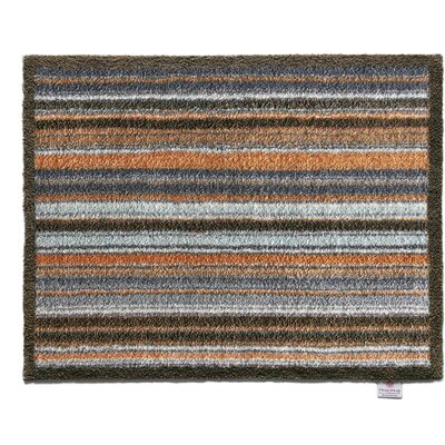 Dupuy Stripe 31 Barrier Doormat Mat Size: Rectangle 2 x 28