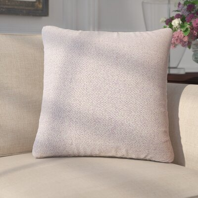 Merlyn Solid Throw Pillow Color: Lavender