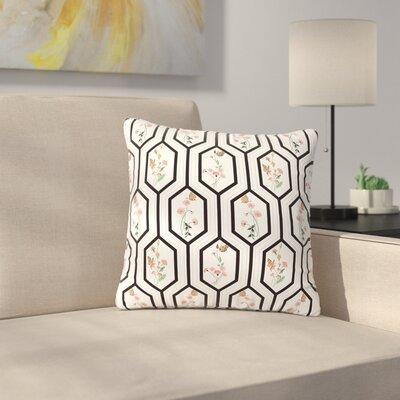 DLKG Design Eden Outdoor Throw Pillow Size: 18 H x 18 W x 5 D