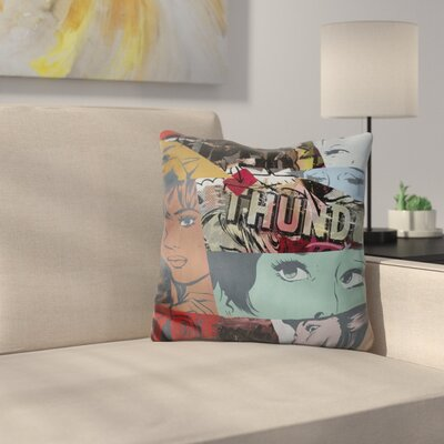 Super Thunder Throw Pillow