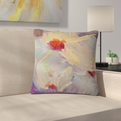 Carol Schiff Dreaming of Dogwood Outdoor Throw Pillow Size: 18 H x 18 W x 5 D
