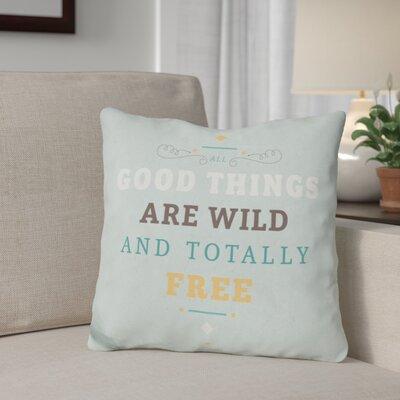 Gines Wildly Free Throw Pillow