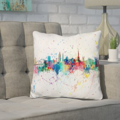 Jarman Newcastle England Throw Pillow