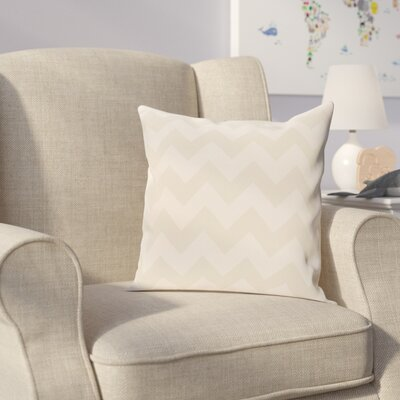 Milo Throw Pillow Size: 26 H x 26 W, Color: Ivory / Cream
