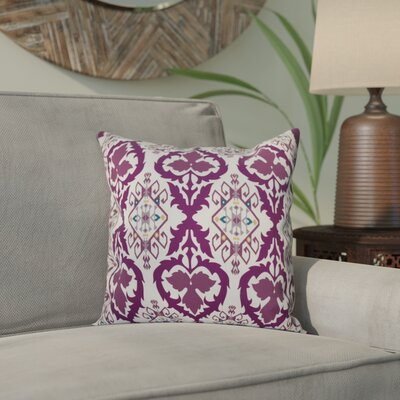 Bridgehampton Geometric Print Throw Pillow Size: 26 H x 26 W, Color: Purple