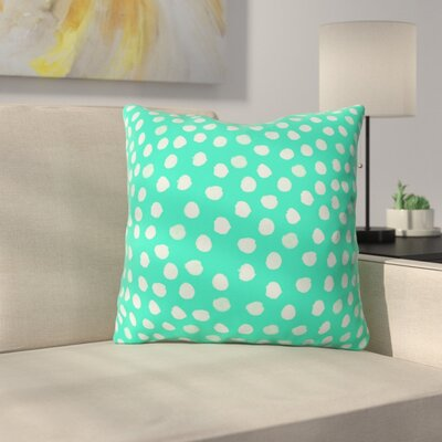 Throw Pillow Size: 18 H x 18 W x 5 D, Color: Green