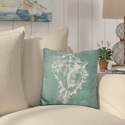 Burrage Solitary Shell Throw Pillow