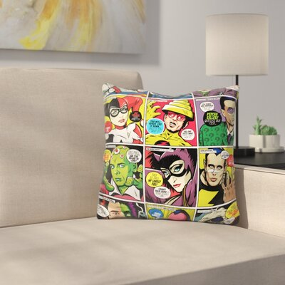 Baddies Throw Pillow