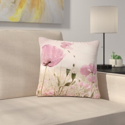 Iris Lehnhardt Summer Dream Floral Outdoor Throw Pillow Size: 16 H x 16 W x 5 D