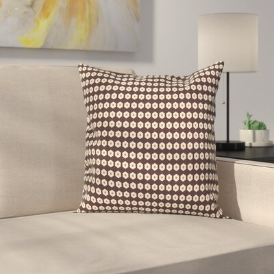 Modern Geometric Graphic Print Pillow Cover Size: 18 x 18