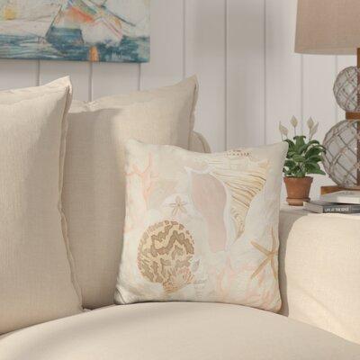 Callender Shell Collector Fresco Throw Pillow