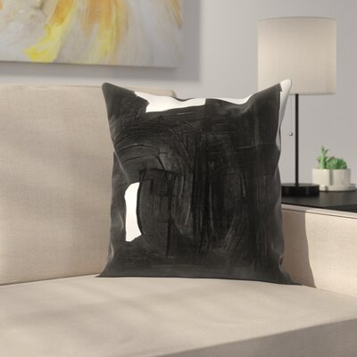 Olimpia Piccoli Without Words Ii Throw Pillow Size: 14 x 14