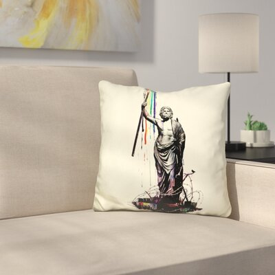 God of Graffiti Throw Pillow