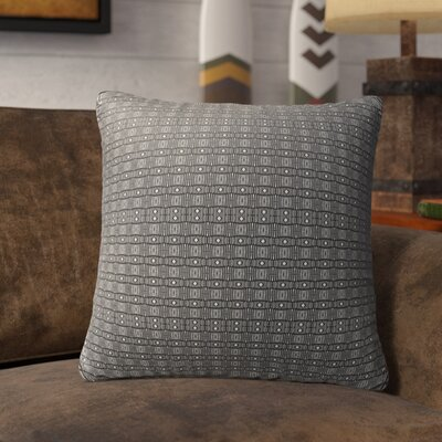 Licata Indoor/Outdoor Throw Pillow Color: White/Black, Size: 18 H x 18 W