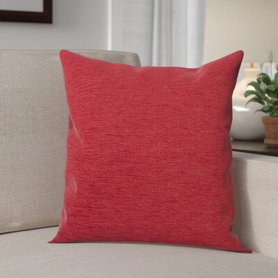 Danin Modern Outdoor Throw Pillow Color: Fire, Size: Large