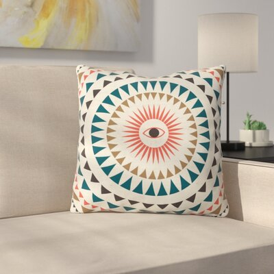 Rise With The Sun Polyester Throw Pillow Size: 16 H x 16 W x 4 D