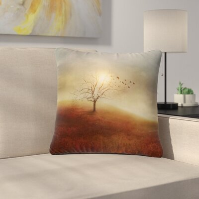 Viviana Gonzalez Lone Tree Love I Outdoor Throw Pillow Size: 18 H x 18 W x 5 D