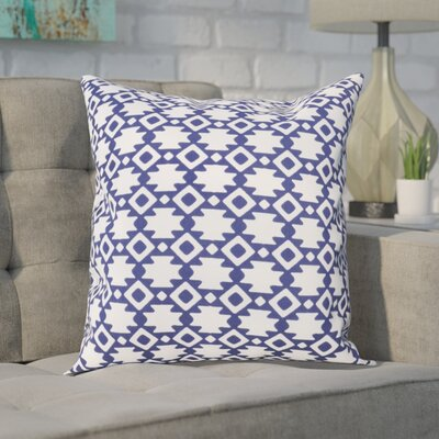 Carignan Throw Pillow Size: 20 H x 20 W, Color: Spring Navy