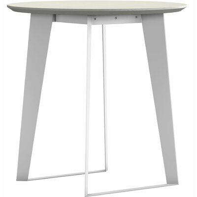 Amsterdam Counter Height Dining Table Color: White Sand