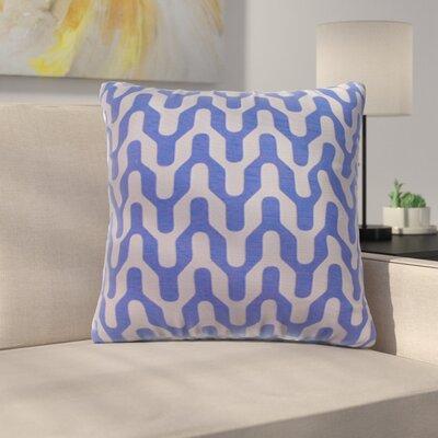Arellano Decorative Throw Pillow Color: Blue