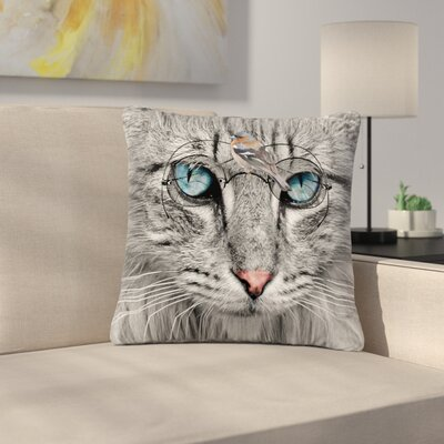 Suzanne Carter Birds Eye View Fantasy Digital Outdoor Throw Pillow Size: 16 H x 16 W x 5 D